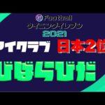 【ウイイレ2021】ランキング日本2位 結局監督なんて関係ない、PSだ【マイクラ部】