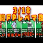 3/18FPガチャレベマ数値選手解説!【ウイイレ2021】若手CF超強化で使えるか!?