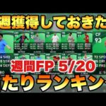 【超絶スパサブ】5/20~週間FP当たりランキング!!あの選手がスーパーサブで!?【ウイイレ2021アプリ】#197